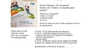Samtal & struktur för synpunkter på Åre kommuns översiktsplan